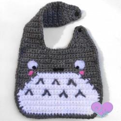 Babero  Totoro 0 - 3 meses