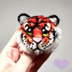 Tigre fieltro