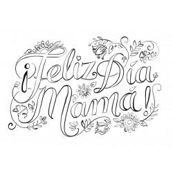 Lámina. Día de la madre